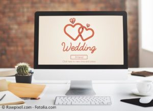 Online Shopping von A-Z zum Hochzeitsfest - #109655375 | © Rawpixel.com - Fotolia.com